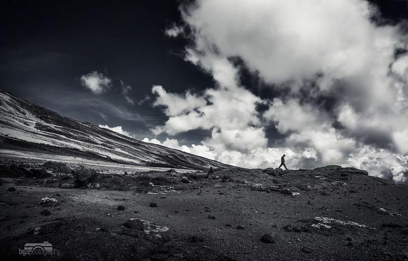 Kilimanjaro shadow