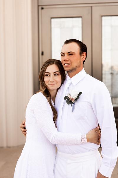 Young wedding