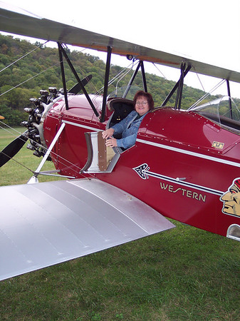 Stearman C3B ride