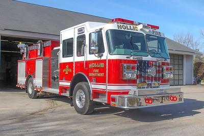 Apparatus Shoot- Hollis, NH Fire Department NEW Engine 1- 3/25/21