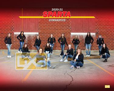 Sparta gymnastics GYM2021