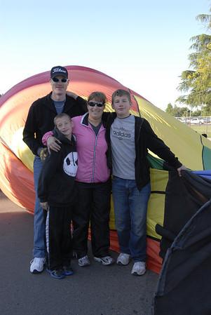 Kerman Relay for Life 2012 Balloons