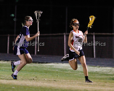Lacrosse Girls Patriot Scrimmage 3/8/12