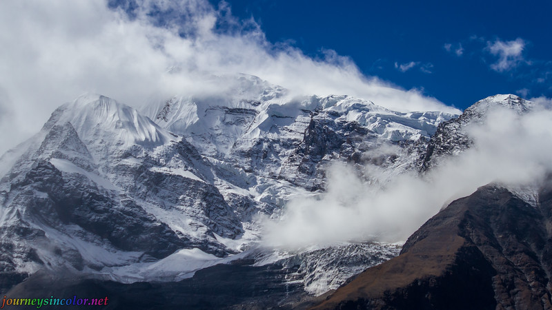 Winds Blow off the Annapurna Mastif, Nepal