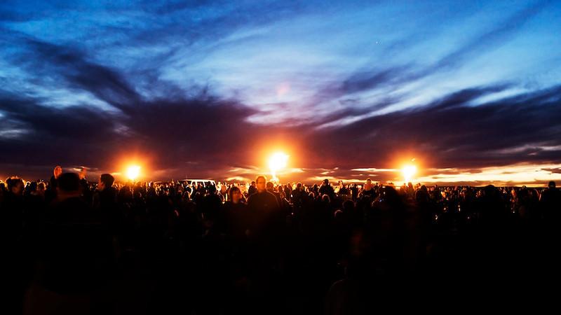 Baloon Festival Burn