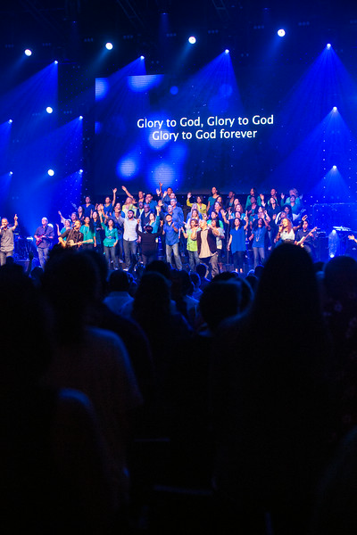 Sunday Service in Point Loma with The Rock Choir, June 22nd, 2014
