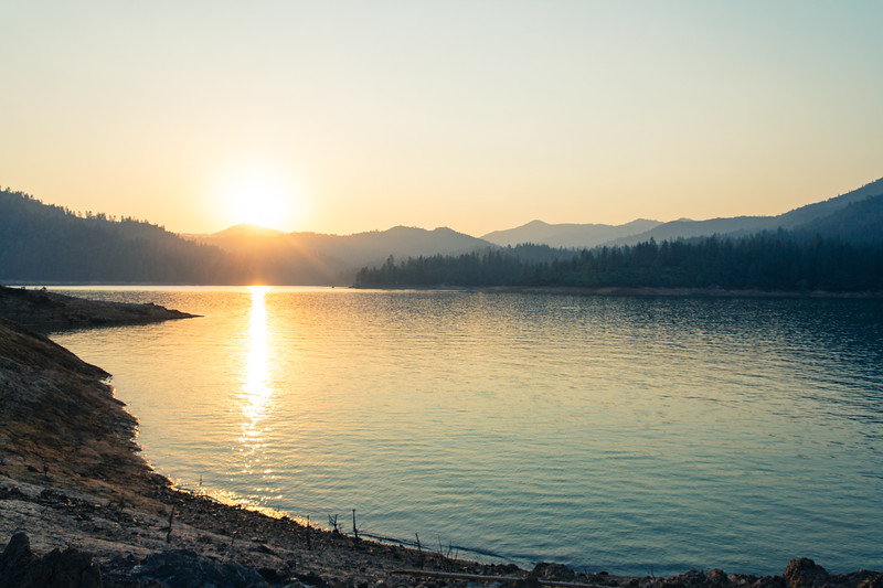 Lake Shasta, California