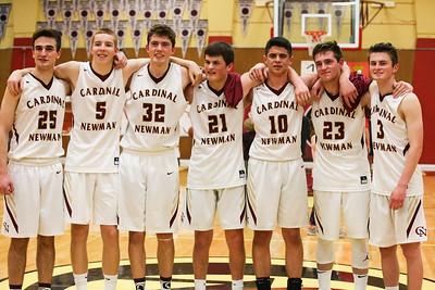 Varsity - JV Basketball Senior Night