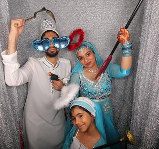 Rehana & Sikander Wedding Photobooth Photos