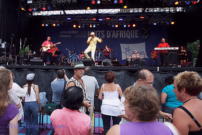 Rafael et Energia Dominicana at the Montreal 2010 Nuits d'Afrique