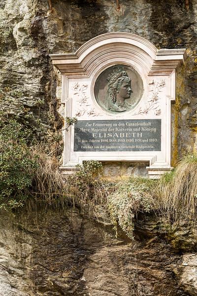Plaque To Empress Elisabeth of Austria, Bad Gastein