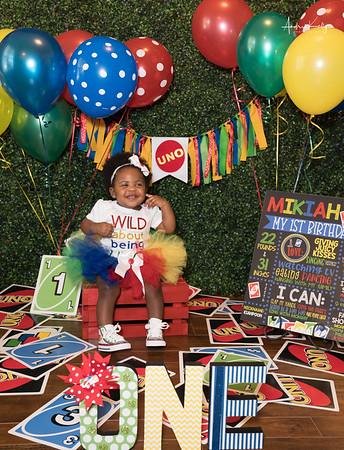 Mikiah Taylor's 1yr. Birthday Shoot