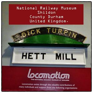 001 - The National Railway Museum, Shildon, Co Durham, UK - 2014.