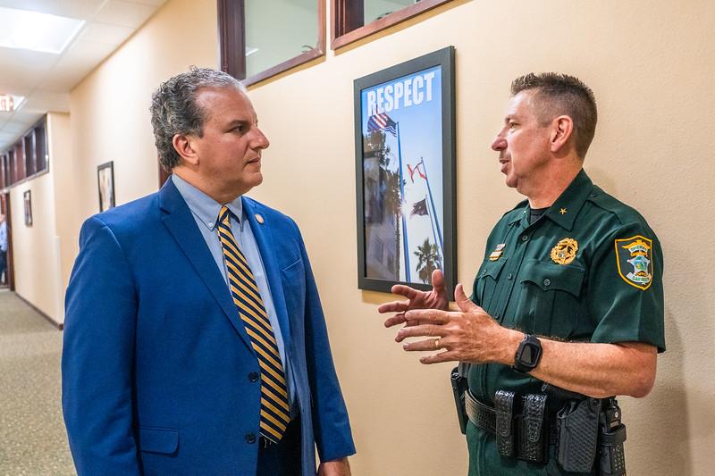 05-25-21-Serasota-Sheriff Kurt Hoffman Meeting