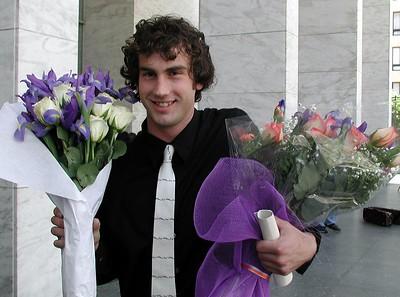 Franny graduates