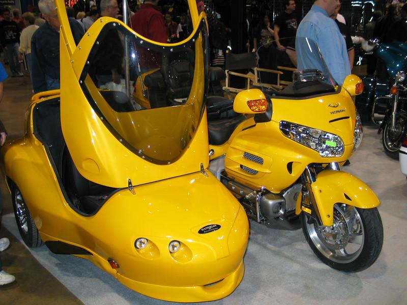 Honda Goldwing with sidecar