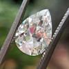 2.01ct Antique Pear Shape Diamond GIA G VS1 29