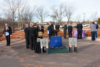 Jones Public Library Cornerstone Ceremony