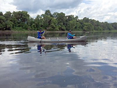 July 28: Paddling Down the Connecticut River