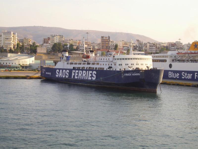 2012 - PANAGIA AGIASOU still laid up in Piraeus.