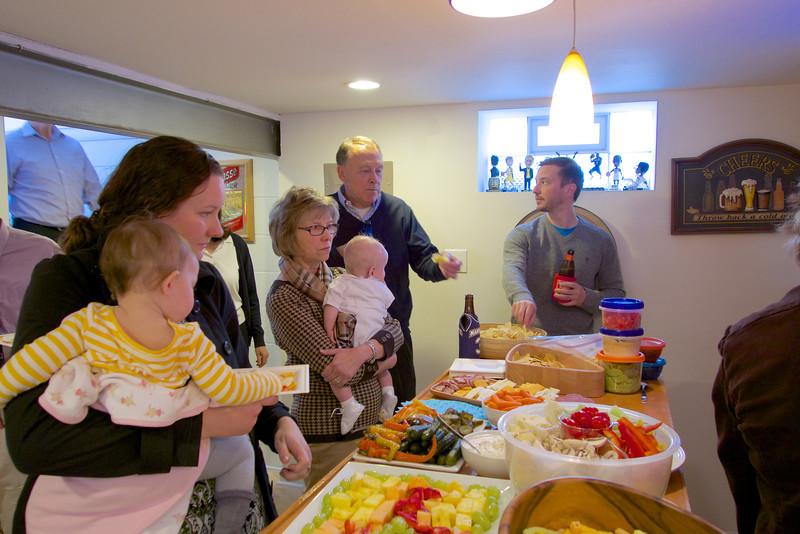 Celebration party for Alexander James
