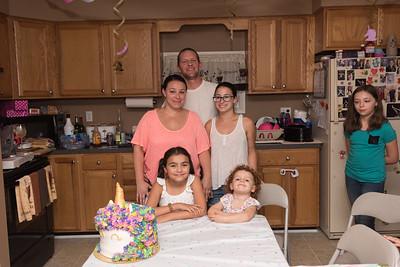 Mia's 10th Birthday