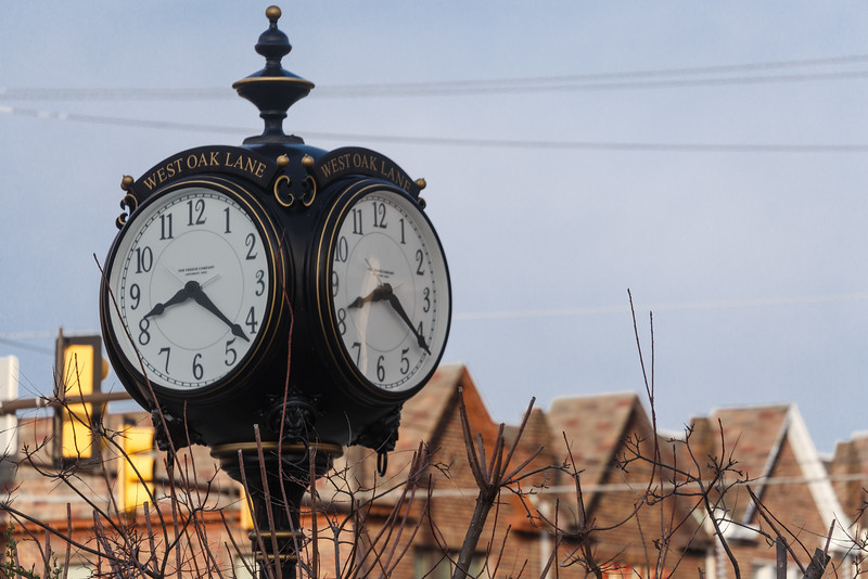 West Oak Lane Clock