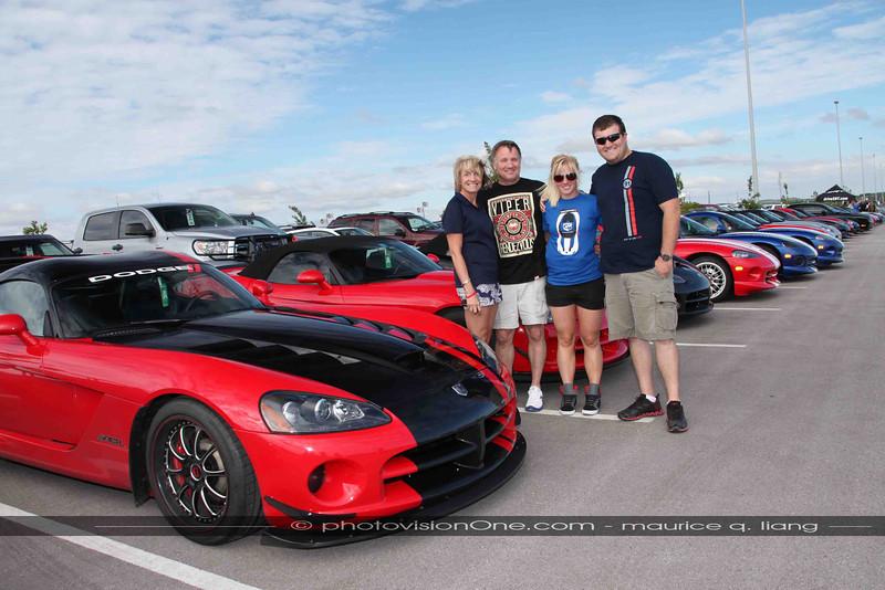 Scott Manwell and family