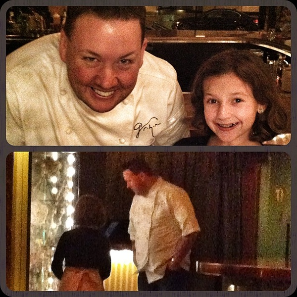 Thanks you Chef @grahamelliot for a fantastic experience tonight! Can't wait for the next iteration!