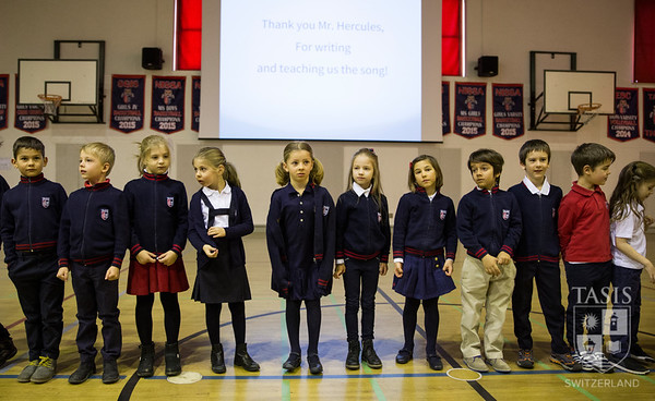 All-School Assembly - First Grade