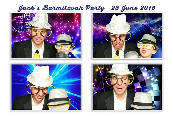 Jack's Barmitzvah - 28June15
