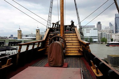 Golden Hinde II, London, 2013