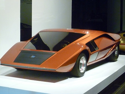 The Petersen Automotive Museum - Los Angeles -18 April '12