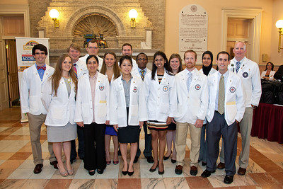 Columbus Medical School Students (1st group) July 2012