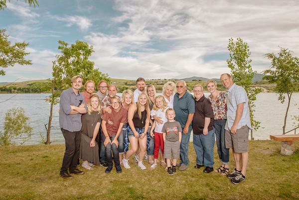 Family Portrait Vibrance