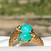 Vintage Bypass Gemstone Ring 15