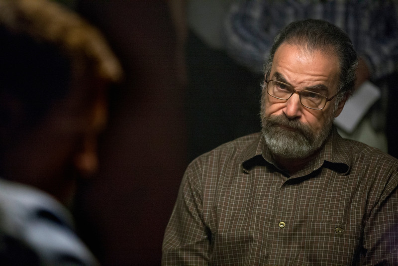 ". This image released by Showtime shows Mandy Patinkin as Saul Berenson in in a scene from ""Homeland.\"" Patinkin was nominated Thursday, Dec. 13, 2012 for a Golden Globe for best supporting in a series for his role in ìHomeland.ì  The 70th annual Golden Globe Awards will be held on Jan. 13. (AP Photo/Showtime, Kent Smith)"