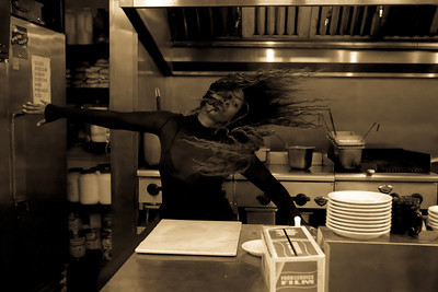 Kitchen Hairtoss