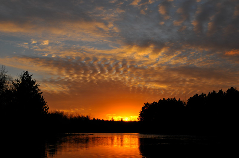 Willow Flowage Sunset, Wisconsin