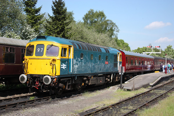 33102 - Churnet Valley Railway, 18th May 2014