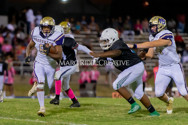 Broughton Varsity football at Southeast Raleigh. October 4, 2019. D4S_5058