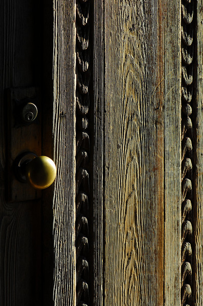 The door of San Juan Capistrano.  Showing off my new 105 macro lens