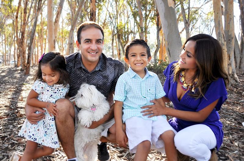 Family Photo Session at La Jolla, CA