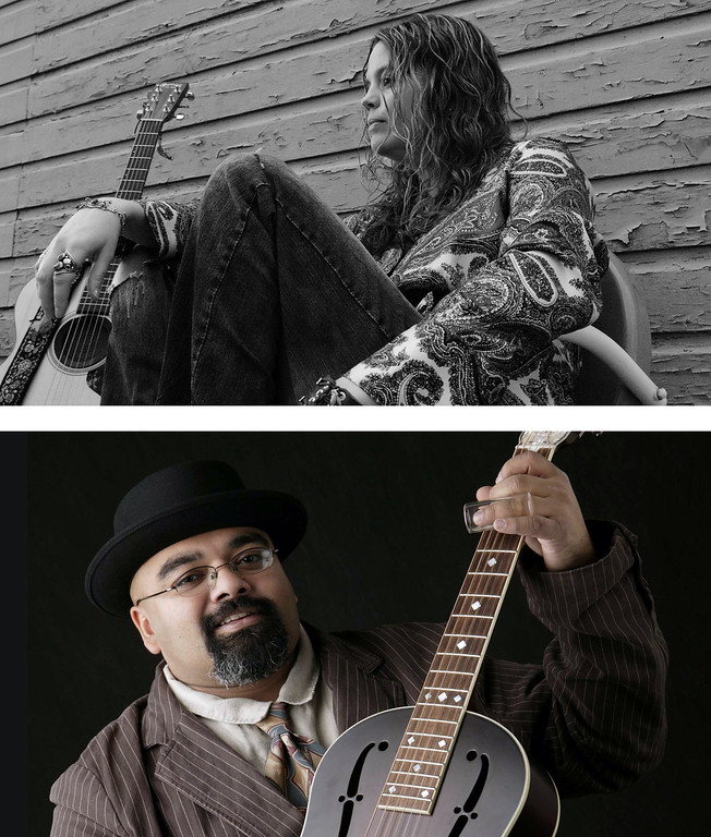 . Austin �Walkin� Cane� and Kristine Jackson will present �Blues From the Heart of the Rock & Roll City� 8 p.m. March 31 and April 1 at Stocker Arts Center at Lorain County Community College. For information, visit www.StockerArtsCenter.com. (Images courtesy of Modern Arts and Music)