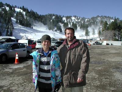 Skiing & Snowboarding with Mason 3/23/09