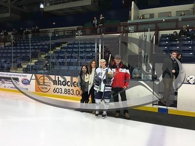 Women's Ice Hockey Senior Day (2/12/16)
