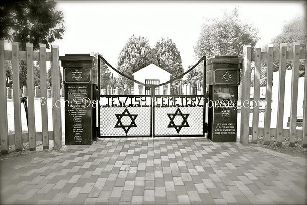 SOUTH AFRICA, North West Province, Klerksdorp. Jewish Cemetery (2.2013)