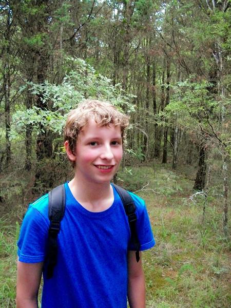Joshua Paul Howland,  age 14 & 1/2, July 2010.