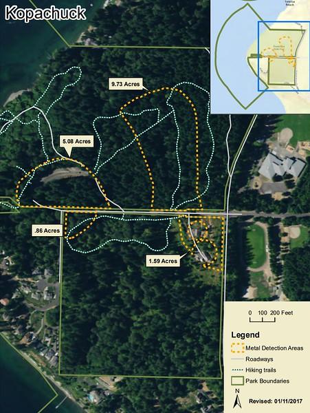 Kopachuck State Park (Metal Detection Areas)