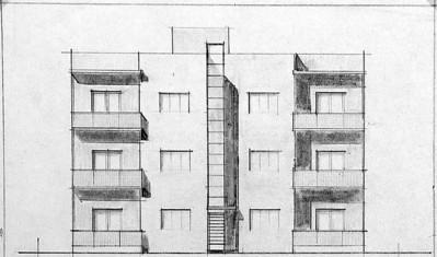 Kerzman House, Tel Aviv - 1936